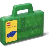 LEGO® úložný box TO-GO zelený