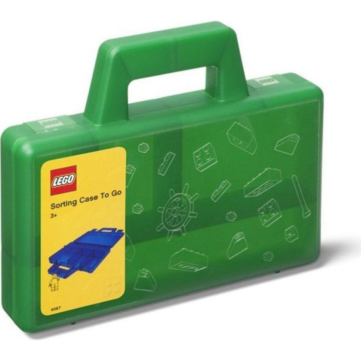 Fotografie LEGO® úložný box TO-GO zelený
