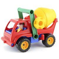 LENA 04153 - Aktivní domíchavač červený náklaďák
