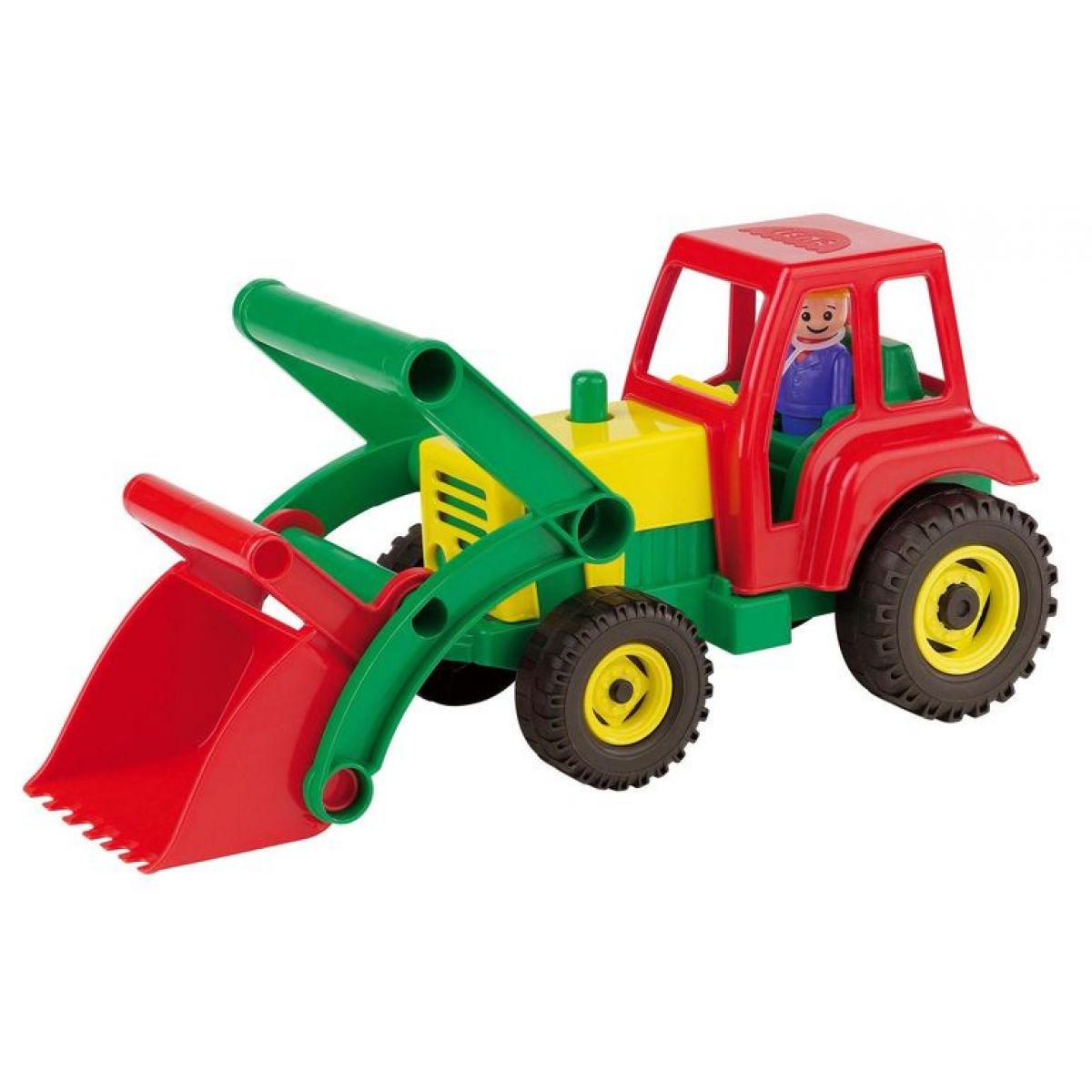 Lena Aktivní traktor se lžící