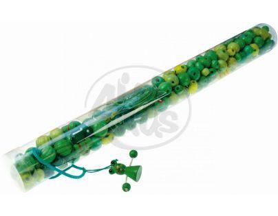 """LENA 32041 - Dřevěné perly ve velké tubě """" žába"""""""