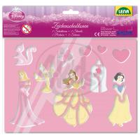 Lena Disney Princess Kreslící šablony Princezny