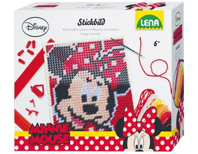 Lena Disney Vyšívací obrázek Minnie 2