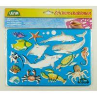 Lena 65768 Kreslící šablony Afrika a oceán 3