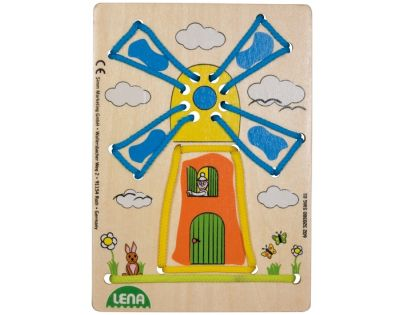 Lena Navlékací obrázek Větrný mlýn