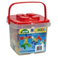 LENA 35820 - Rondi 25 mm, 550 ks v kbelíku