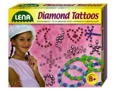 LENA 42263 - Diamantové tetování
