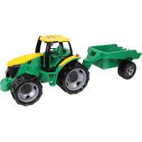 Lena Traktor bez lyžice a bagra s prívesom