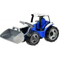 Lena Traktor s lyžicou modro šedý