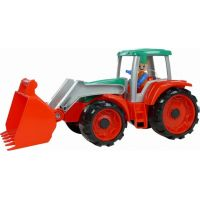 Lena Truxx Traktor s přívěsem na seno s ozdobným kartónem 2