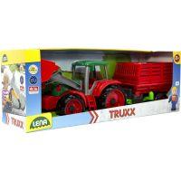 Lena Truxx Traktor s přívěsem na seno s ozdobným kartónem 4