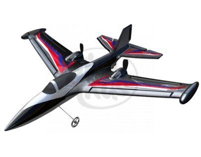 Silverit Letadlo X-Twin R/C Air Acrobat - Červená