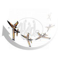 Silverit Letadlo X-Twin R/C Air Acrobat - Červená 2