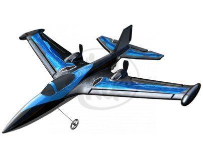 Silverit Letadlo X-Twin R/C Air Acrobat - Modrá