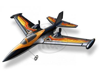 Silverit Letadlo X-Twin R/C Air Acrobat - Oranžová