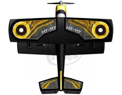 Silverlit Letadlo X-Twin RC Classic Trainer - Žlutá