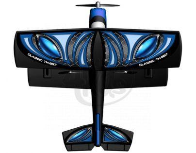 Silverlit Letadlo X-Twin RC Classic Trainer - Modrá