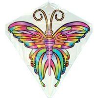 Létající drak 60 x 66 cm motýl