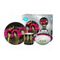 """Licence Only JB2-39E - Snídaňová souprava 3ks """"Jonas Brothers"""""""