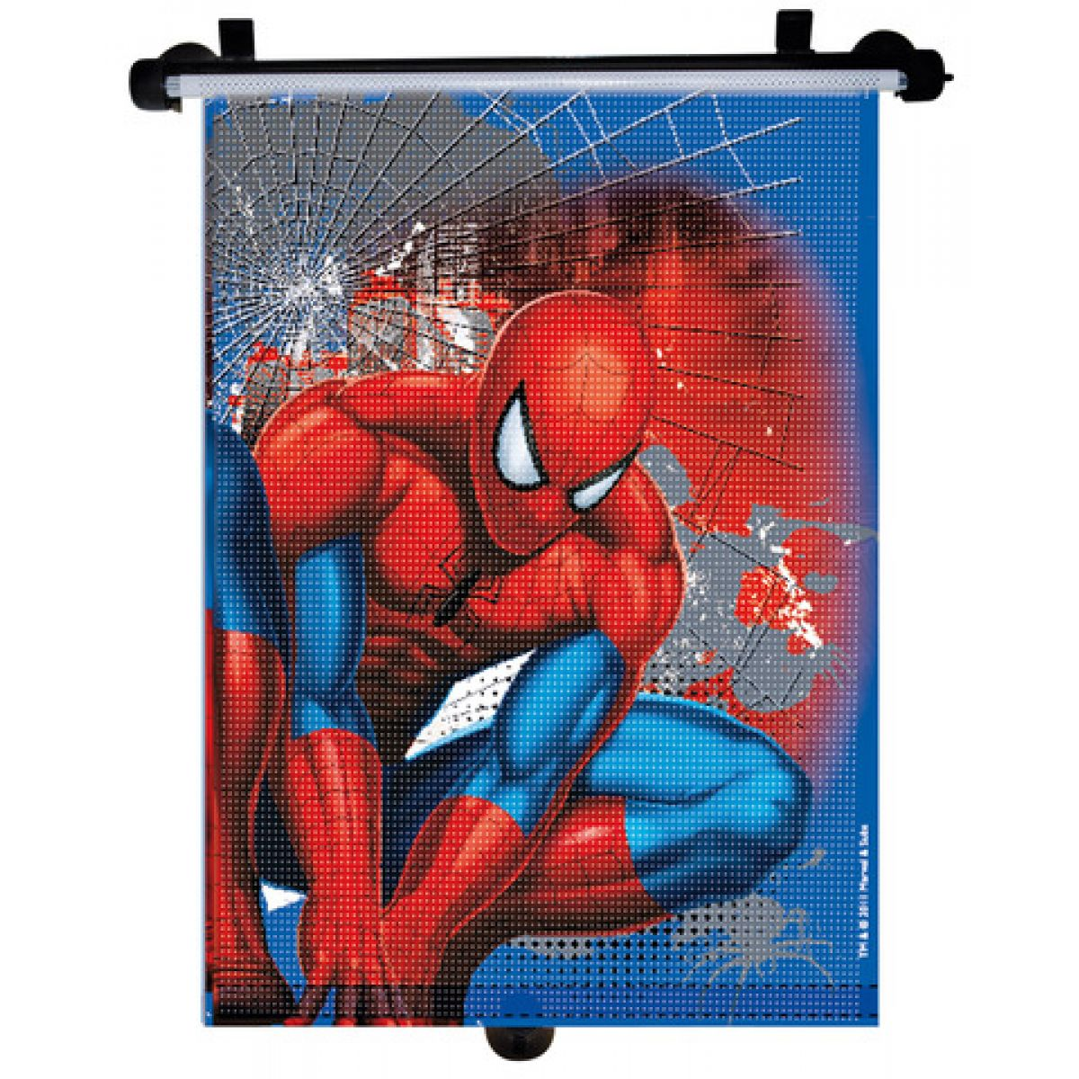"Licence Only SMSAA110 - Roletka do auta ""Spiderman"" (1 ks) 41x49 cm"