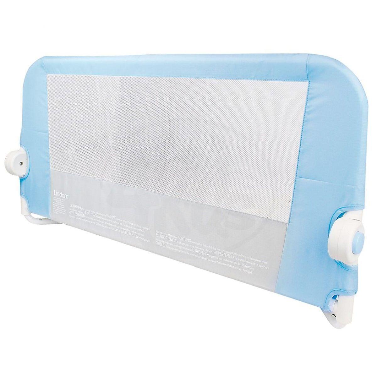 Lindam Dětská zábrana k posteli modrá