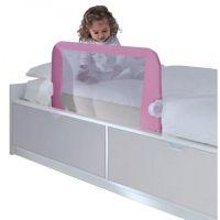 Lindam Dětská zábrana k posteli růžová 5