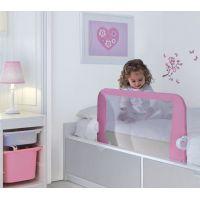 Lindam Dětská zábrana k posteli růžová 6