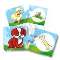 Baby genius baby logik Lisciani Giochi - Co zvířátka jedí? 2