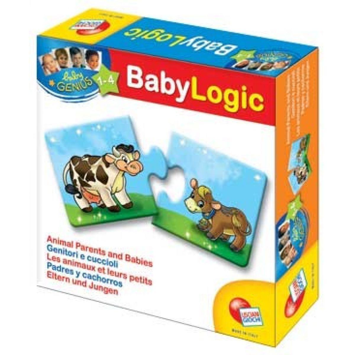 Baby genius baby logik Lisciani Giochi - Mláďata a rodiče