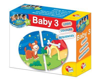 Baby genius baby skládačka 3v1 - Kde zvířátka bydlí?