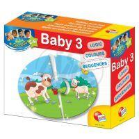 Baby genius baby skládačka 3v1 - Mláďata a rodiče