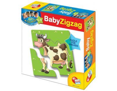Baby genius baby zvířátka Lisciani Giochi - Zvířátka z farmy
