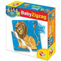 Baby genius baby zvířátka Lisciani Giochi - Africká zvířátka