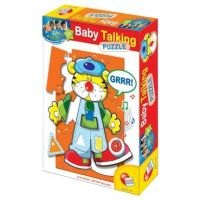 EP Line Baby genius Puzzle se zvukem Tygřík
