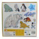 Lisciani Giochi Baby genius Zvířátka tvarovaná - Polární 2