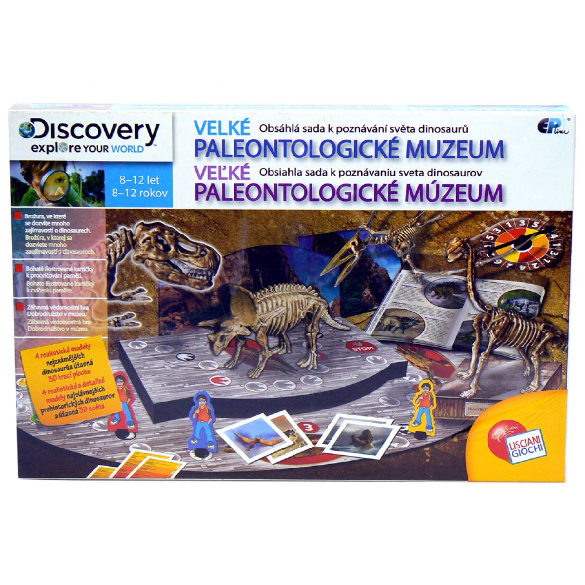 EPLine DIT1514 - Velké paleontologické muzeum