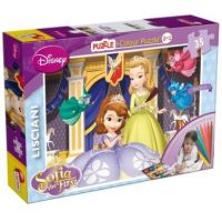 Puzzle Disney Sofia the First 35 dílků 2 v 1