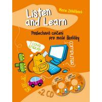Ottovo nakl. Listen and Learn Poslechová cvičení pro malé školáky + 2 CD