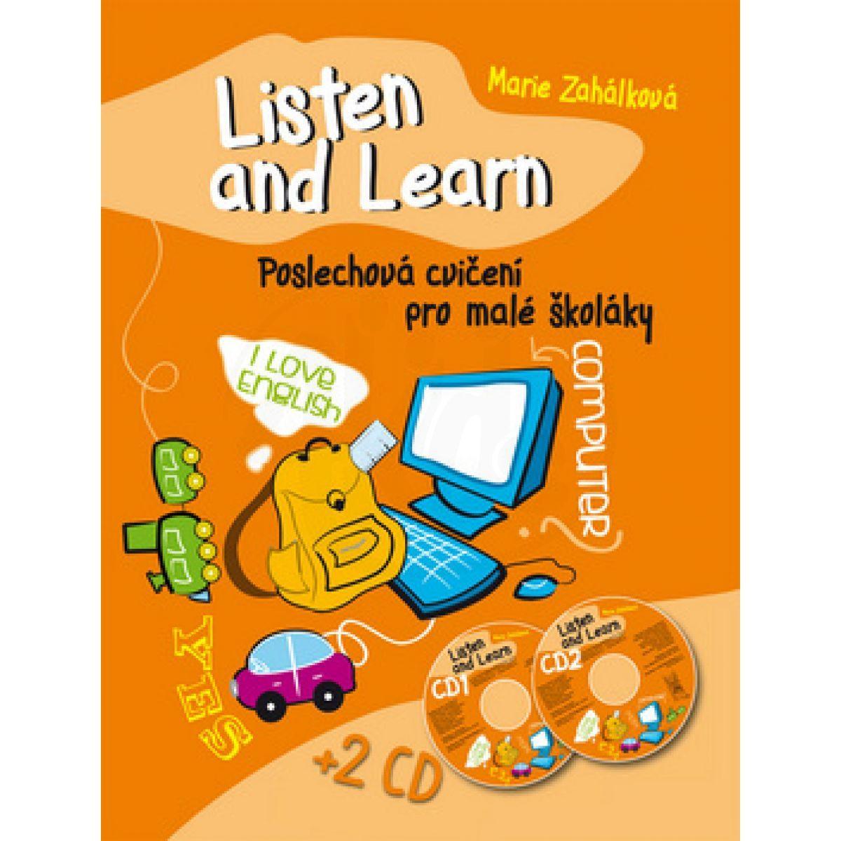 Ottovo nakladatelství Ottovo nakl. Listen and Learn Poslechová cvičení pro malé školáky + 2 CD