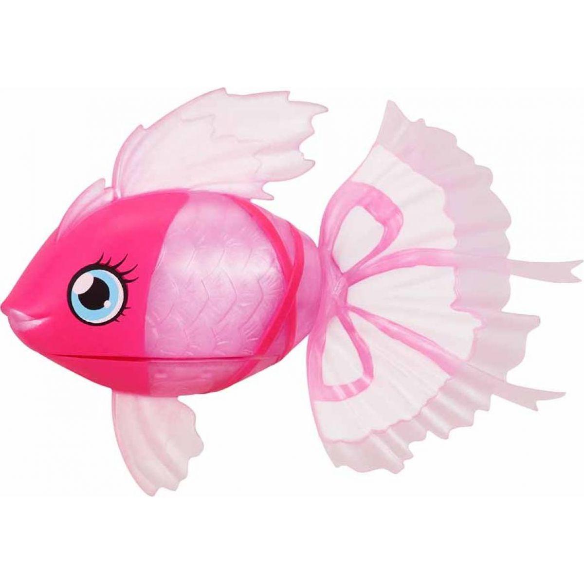 Little Live Pets Plavající rybka růžová Bellariva