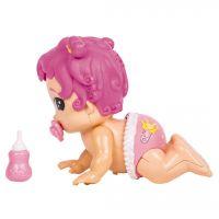 Little Live Bizzy Bubs miminko lezoucí růžová