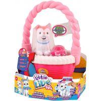 Little Live Pets Mluvící štěňátko v koši II. - Kvítko