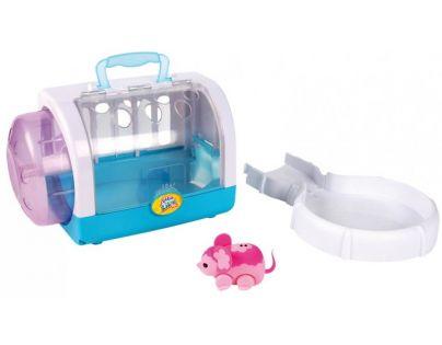 Little Live Pets Myší domek - Růžová myška