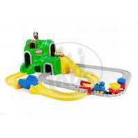 Little Tikes Autodráha se železnicí