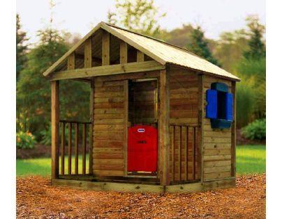Little Tikes 172229 - Dřevěný domeček Kingston