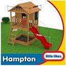 Little Tikes 172212 - Dřevěný domeček se skluzavkou Hampton 3