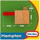 Little Tikes 172212 - Dřevěný domeček se skluzavkou Hampton 4