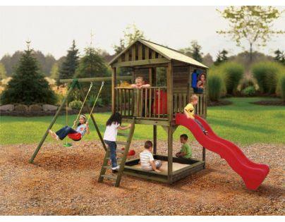 Little Tikes 170942 - Dřevěné hrací centrum Richmond
