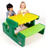Little Tikes Evergreen Piknikový stoleček velký - Poškozený obal 2