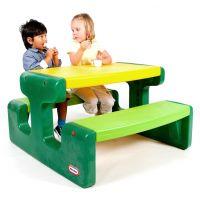 Little Tikes Evergreen Piknikový stoleček velký - Poškozený obal 3